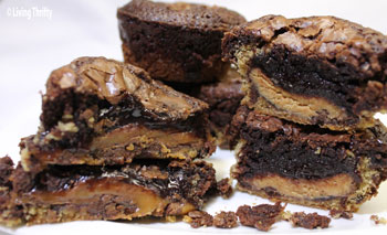Chocolate Chip Cookie Candy Fudge Brownies