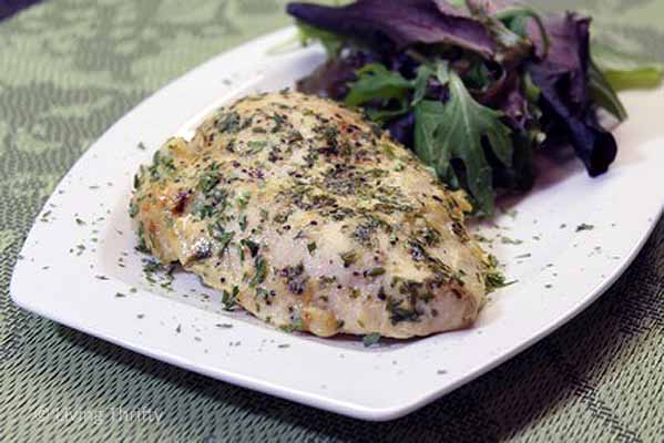 Super Moist Honey Mustard Marinated Chicken Breast