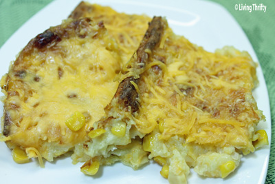 Cheesy Corn Casserole