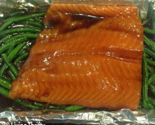 Healthy, Easy Asian Salmon and Vegetables