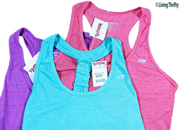 Women's Workout Clothes Done Inexpensively
